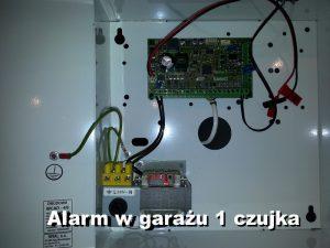 Montaż alarmu